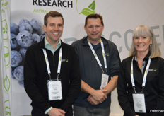 Peter Cook, Michael Coates and Yvonne McDiarmid from Plant Health Research.