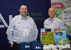 Nicholas Bond and Erez Cohen from ICL Speciality Fertilizers.