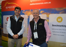 Nigel Crawley and David Jackson at Rimfire Resources.