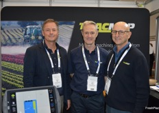 David Glen, Don Thorp and Michael De Palma at TracMap.