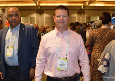 Tony Mitchell with Vision Import Group attends the show.