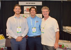 Ryan Easter, Kevin Steiner and Doug Hearron with Sage Fruit Company.