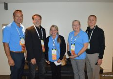The Amerifresh team attends PMA Foodservice. From left to right: Rick Harris, Robb Bertels, Sally Palmgren, Sharon Coffelt and Andrew Mashler.