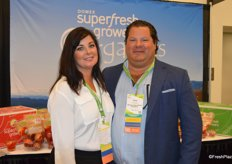 Paul Newstead from Domex Superfresh Growers and his wife Germaine.