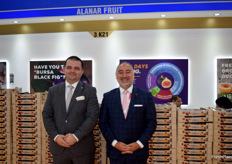 Yigit Gokyigit and Enrah Ince of Alanar were in Hong Kong to showcase their figs. They had a busy time, as they had been to an Indian trade fair the week before AFL. Their pomegranate season is almost starting!