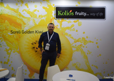 Christos Kolios representing Kolios Exports from Greece.