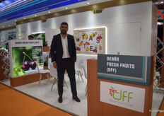 Alper Kerim is the General Manager for Demir Fresh Fruits. Although visitors were slow, he thought the exhibition was a success, with quality meetings.