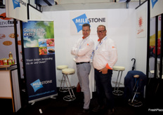 Dutch company Milestone Fresh was represented by CEO Juri Falandt and Managing Director Co van Es. They offer full service in global logistics.