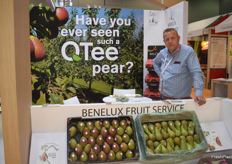 Filiep Callewaert is the Sales Manager for Fresh Fruit Service Europe. They mainly export appels and pears.