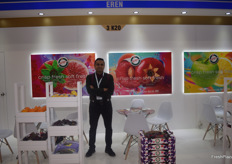 Hakan Gizlice of Turkish exporter Eren Tarim.