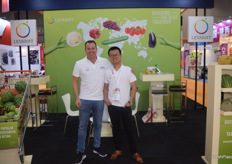 Pepijn and his colleague for Levarht, together they form the Asia team.