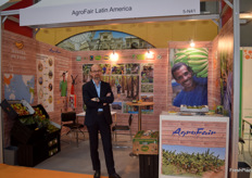 AgroFair Managing Director Hans-Willem van der Waal was happy to be in Hong Kong. They showcased a couple of new fruits they import, like organic pineapples