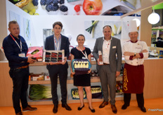 Some of the Belgian representatives; Filiep Callewaert of Fresh Fruit Service Europe and Sofie Lambrecht from BelOrta.