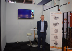 Pieter van Kleef, the Area Sales manager for SormacS.
