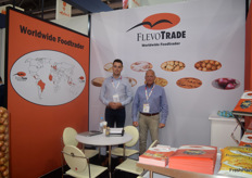 Martijn and Arnold Groenveld of Flevotrade, the Netherlands. They export onions, potatoes and carrots.