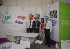 The StePac stand was represented by Commercial manager Guy Parnes, Sales Manager Ivo Tunchel, Commercial Manager Amnon Sandman and the lovely Angelica Escobar.