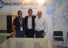 American company MacroPlastics was represented by Luis Diego Escorriola, Bill Wang and Wendell Smith.