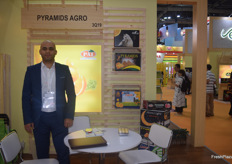 Export Director Sherif Mezar of Egyptian exporter Pyramids Agro