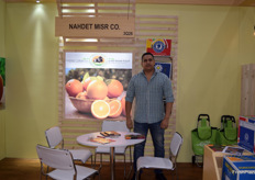 Montasser Rashwan is the Assistant Managing Director of Nahdet Misr Co. They were one of the many Egyptian stands presenting their citrus.