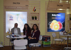 The lovely ladies of Daltex from Egypt. They mostly export citrus to the Asian market.