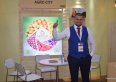 Abde Fewzy is the owner of Egyptian exporter Agro City. They deal in oranges, grapes and pomegranates. Their main markets are China and India.