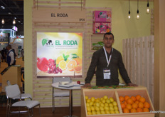 El Sayed Tantaway is El Roda their Senior Sales Executive. The company is based in Egypt and deals mostly in citrus and pomegranates.