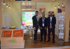 Ahmed Castello, Mahmoud Osman and Islam Magdy of Egyptian exporter Fruit Link.