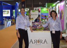 Vered Karniel and Nomi Karniel, who were at Hong Kong to promote Grapa varieties.
