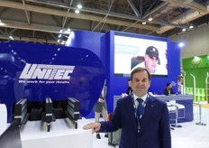 Luca Montanari of Unitec, Italian company leader in machinery.
