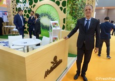 Augusto Renella of Naturitalia, company of fruit and veg