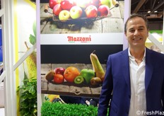 Pierluigi Marconcini of Mazzoni Group, Italian company specialized on fruit, veg, frozen, nursery.