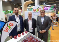 Hannes Tauber, Alex Mair and Klaus Hölzl of VOG.