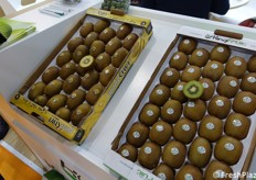 Kingfruit-branded kiwifruit.