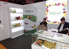 The booth of Daifreesh company