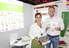 Nils Angelike (marketing) and Andrea Alvarez (business development) of Unicafresh (Spanish company)