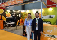 The commercial manager of Spanish company Motilla: Juan Motilla Ferrandis.