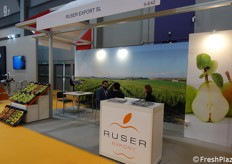 At work in the Ruser Export's booth
