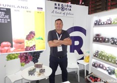 Antonio Jose Bastida Lopez of Uniland (Spanish company specialized in fruit)