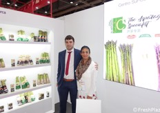 Miguel Angel Diaz Beltran and Eva Harti of the Spanish company Centro Sur