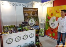 The booth of Spanish company Karma Produce