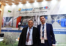 Sylvain Gerbaud and Aurelien Kamminga from Absorger, French company of atmosphere modificated