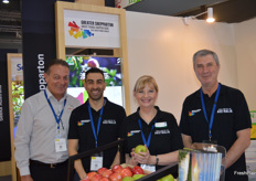 Tim Nethersole - Jeff Thompson Fruit Packing Co, Anthony Nicolaci, Kim O'Keeffe and Peter Harriott from Greater Shepparton.