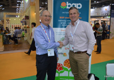 Neil Barker - BGP and Adam Leslie - Fresh Solution Group. Neil announced at the show that he had sold his business to Fresh Solutions Group.