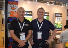 Perry Hill and Jon Watson from Mildura Fruit Company.