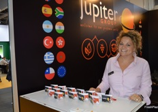 The lovely Kirsty Fleetwood from Jupiter Marketing.