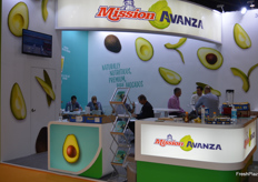 The Mission Produce Avanza stand