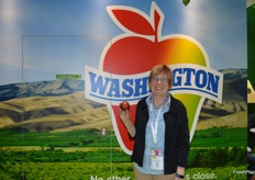 Rebecca Lyons at Washington Apples.
