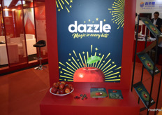 Dazzle one of the new apple varieties from New Zealand.