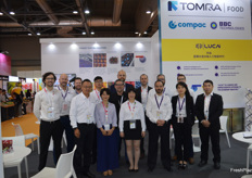 The team at Tomra, Compac and BBC Technologies.