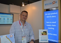Luke Wood from Esavox was at the trade fair for the first time.